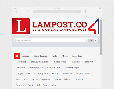Lampung Post - screenshot
