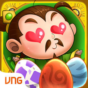 Huan Long - 3Q VNG is the mobile game is tactical cards with generals riding dragons. APK Icon