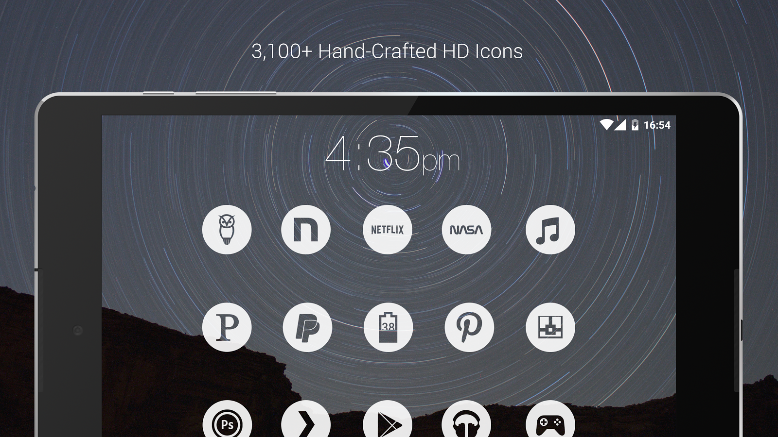 Light Void - White Minimal Icons (Pro Version) Screenshot 10