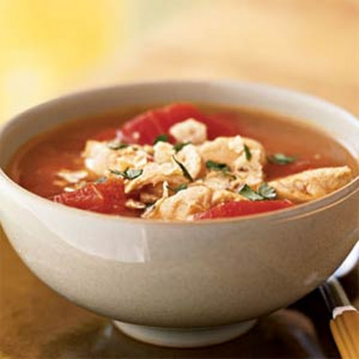 Chipotle Chicken Tortilla Soup Recept | Yummly