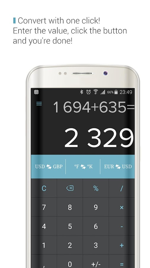 CalCon Converter & Calculator Screenshot 0