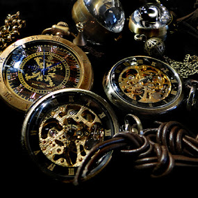 by Liz Rosas - Artistic Objects Other Objects ( timepiece, time, watch, antique, piece )