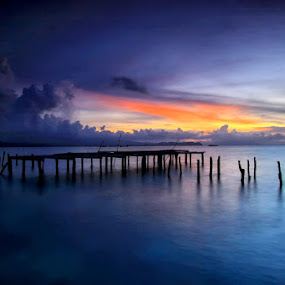the Pride by Alvin Lee Hahuly - Landscapes Waterscapes