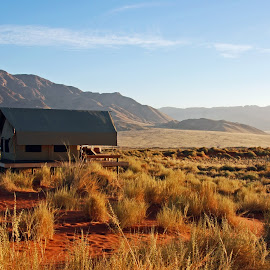 Somewhere in Wolwedans in Namibia. by Lorraine Bettex - Landscapes Travel