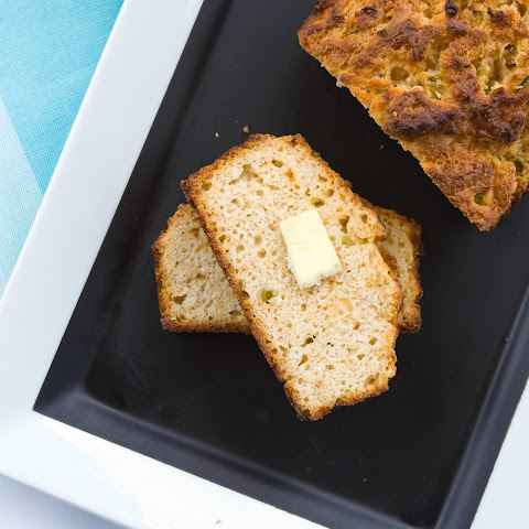 Hatch Green Chile Cheese Bread