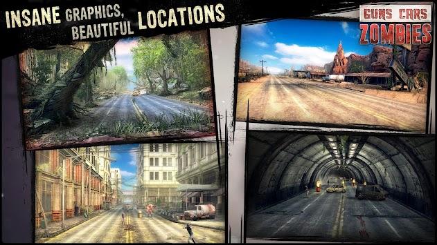 Guns, Cars, Zombies apk screenshot