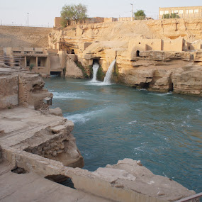 The water mills and waterfalls area in Persia by Luboš Zámiš - Buildings & Architecture Public & Historical