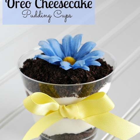 Oreo Cheesecake Pudding Pops