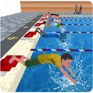 Download Kids Water Swimming Championship For PC Windows and Mac