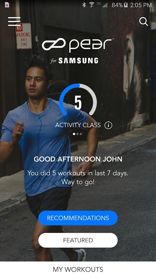 Personal Fitness Coach Screenshot