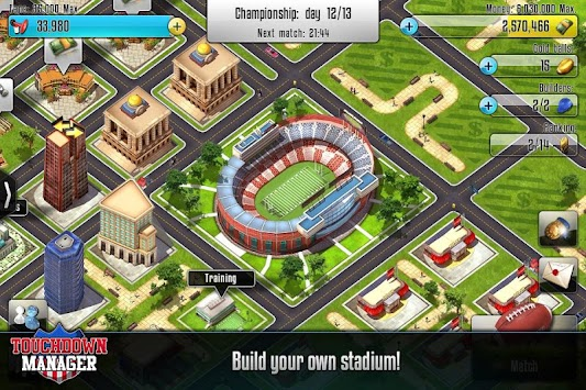 Touchdown Manager APK screenshot thumbnail 1