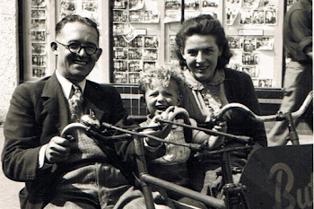 With My Parents, 1947