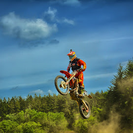 final jump  by Dragan Rakocevic - Sports & Fitness Motorsports