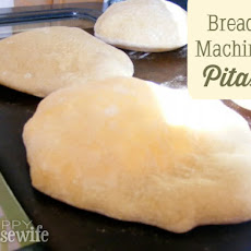 Bread Machine Whole Wheat Pitas