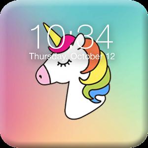 Pony Unicorn Lock Screen For PC