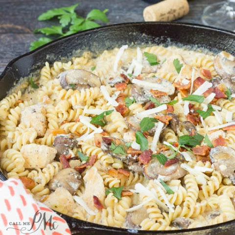 Stove Top Chicken Ricotta Pasta