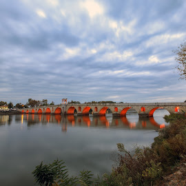 Meriç Köprüsü 2 by Veli Toluay - Buildings & Architecture Bridges & Suspended Structures ( prü, meriç, edirne,  )