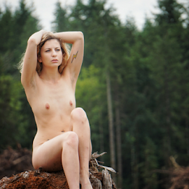 Forrest Nymph  by Todd Reynolds - Nudes & Boudoir Artistic Nude