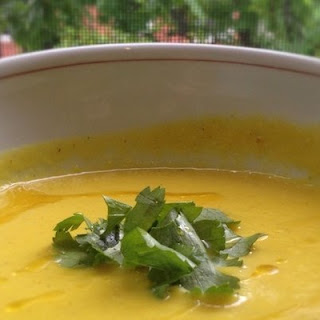 Coconut-Ginger Golden Beet & Carrot Soup