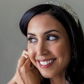 Cavalli Bride by Johan Nieuwoudt - Wedding Getting Ready ( girl, wedding, getting ready, beauty, bride )