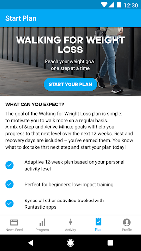Runtastic Steps - Step Counter & Pedometer screenshot 4