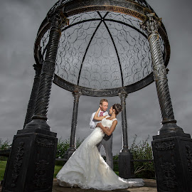Hold Me by Paul Eyre - Wedding Bride & Groom ( derby wedding photographer, wedding photography, nottingham wedding photographer, bride and groom, dramatic wedding photography )