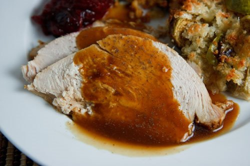 and south beach diet friendly turkey gravy maple roasted turkey ...