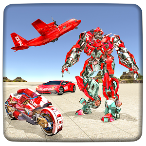 US Robot Police Transport Squad: Cargo Plane For PC / Windows 7/8/10 / Mac – Free Download