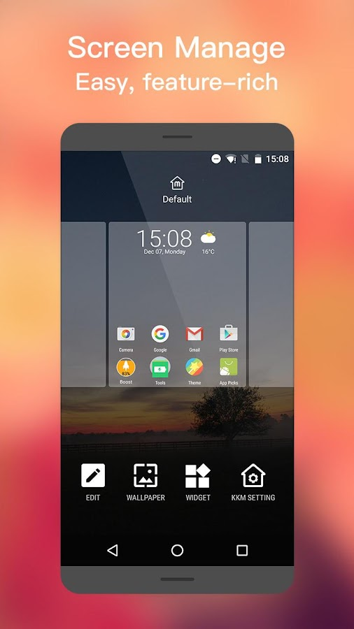 M Launcher Screenshot 4