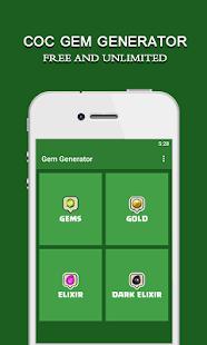 Free Gems For Coc :Free Tips,Tricks APK for Windows 8