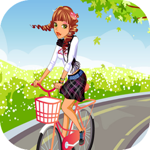 Download Girl Bike: Hill Ride For PC Windows and Mac