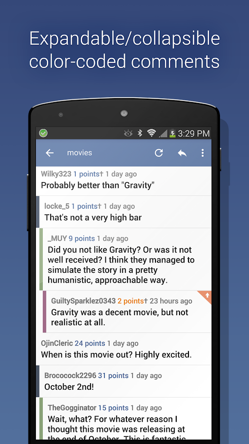 BaconReader Premium for Reddit Screenshot 1
