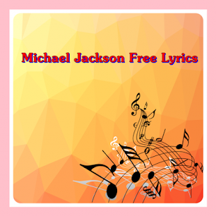 Michael Jackson Free Lyrics - screenshot
