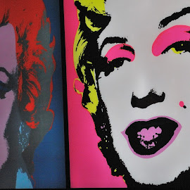 by Andy Warhol by Tomasz Budziak - Painting All Painting ( warhol, painting, warsaw )