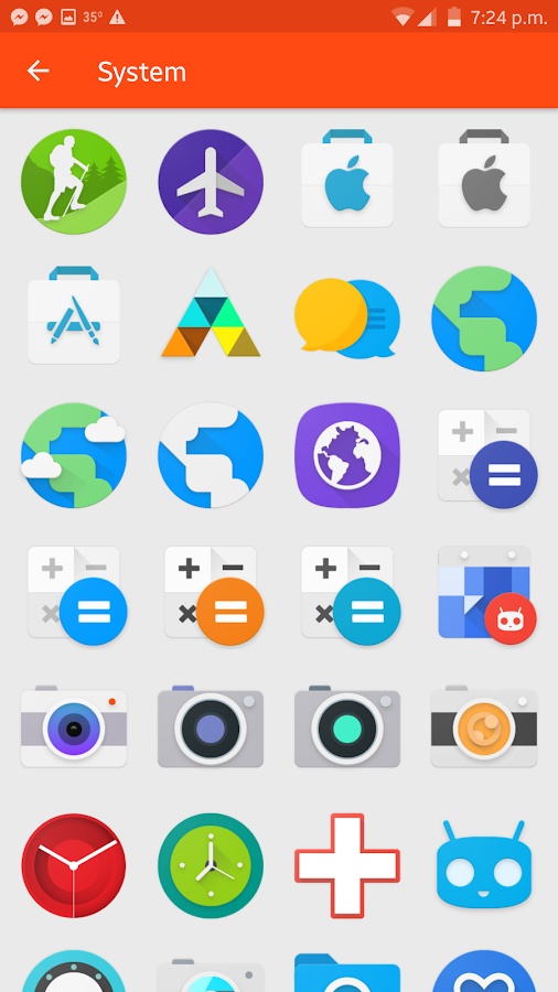 Fabulous - Icon Pack Screenshot 5