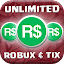 UNLIMITED Free Robux and Tix simulator