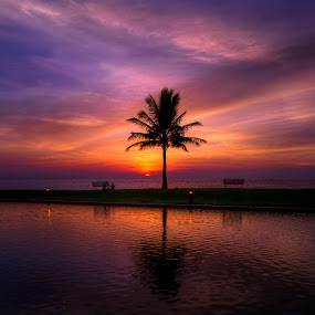 by Mohamad Sa'at Haji Mokim - Landscapes Sunsets & Sunrises