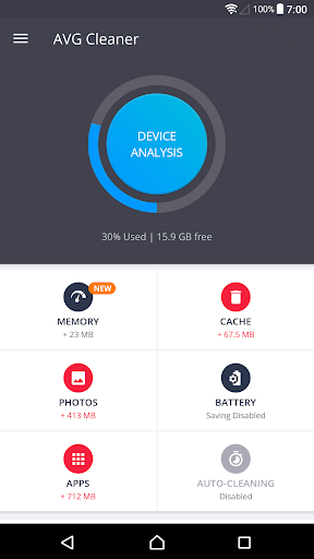 AVG Cleaner – Speed, Battery & Memory Booster screenshot 1
