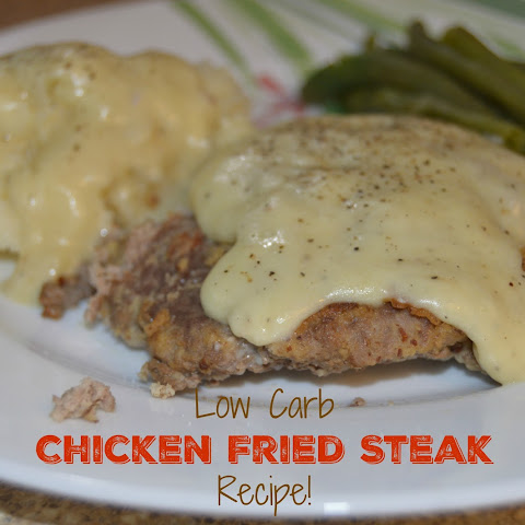 Low Carb Chicken Fried Steak