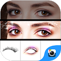 Z CAMERA EYE MAKEUP STICKER APK for Bluestacks