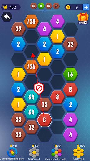 1024 Hexagon screenshot 4