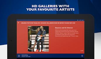 Screenshot of Capital FM Radio App