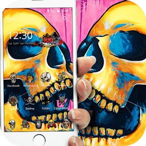 Download Colorful Skull Graffiti For PC Windows and Mac