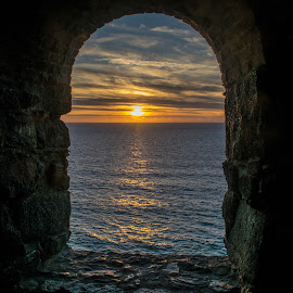 Window On The Wheal  by Jolyon Vincent - Landscapes Sunsets & Sunrises (  )