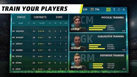 Game SEASON 18 - Football Manager APK for Kindle