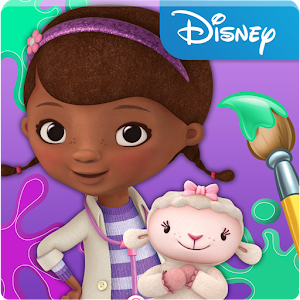 Cover art Doc McStuffins Color and Play