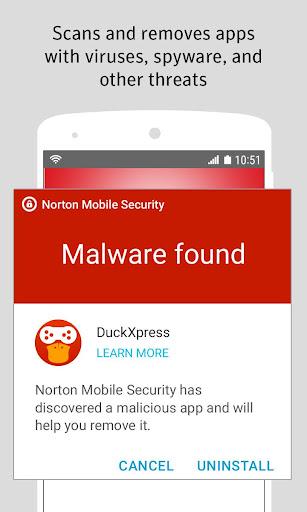 Norton Security and Antivirus screenshot 1
