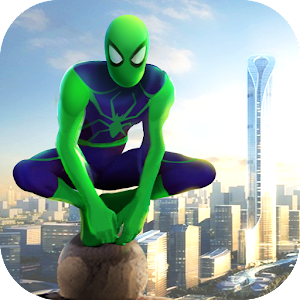 Spider Rope Hero - Gangster Crime City For PC (Windows And Mac)