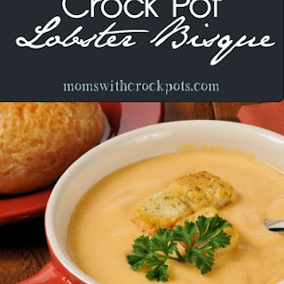 Crock Pot Lobster Bisque