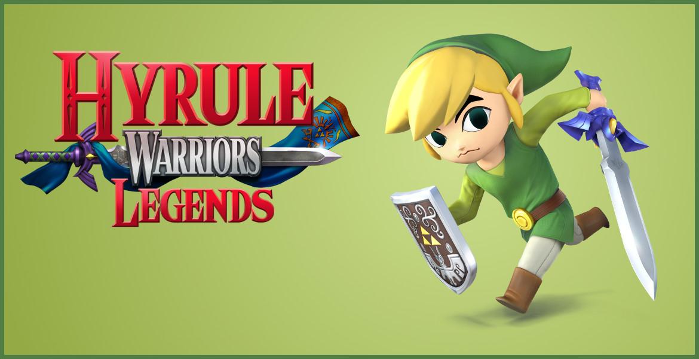 Toon Link Confirmed for Hyrule Warriors Legends